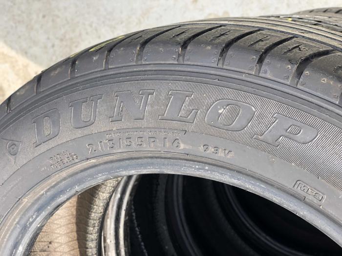 set 2 anvelope 215/55 R16 sh vara Dunlop 6.5mm cu garantie [3]
