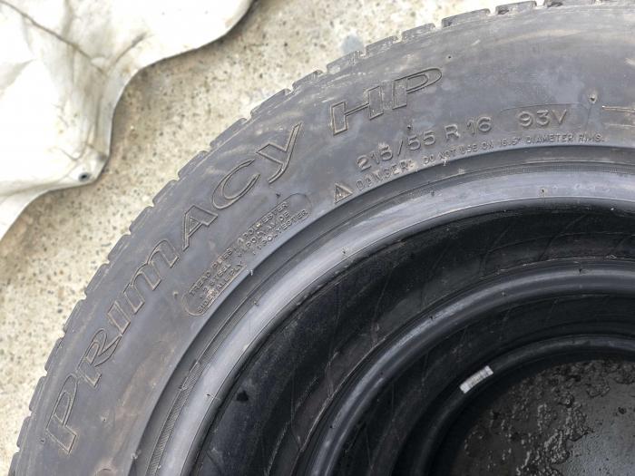 set 2 anvelope 215/55 R16 sh vara Michelin 4mm cu garantie [4]