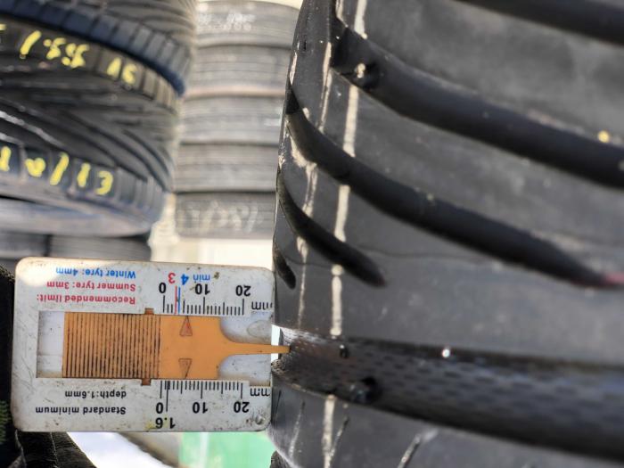 set 4 anvelope 205/55 R16 91V sh vara Uniroyal 5mm cu garantie [5]