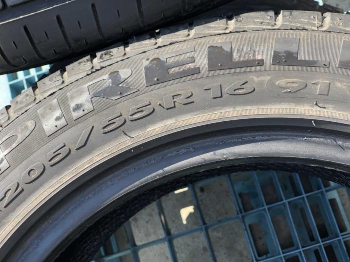 set 2 anvelope 205/55 R16 sh vara Pirelli 5.5mm cu garantie [5]