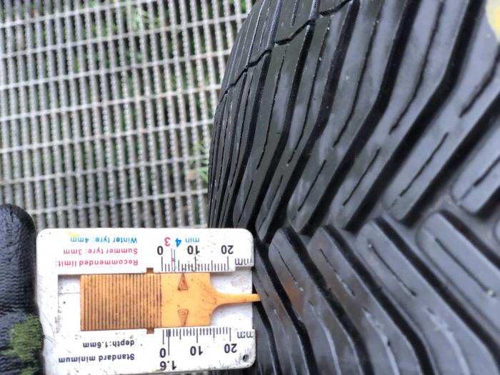 set 2 anvelope 205/55 R16 91H sh vara Michelin 5.5mm cu garantie [5]
