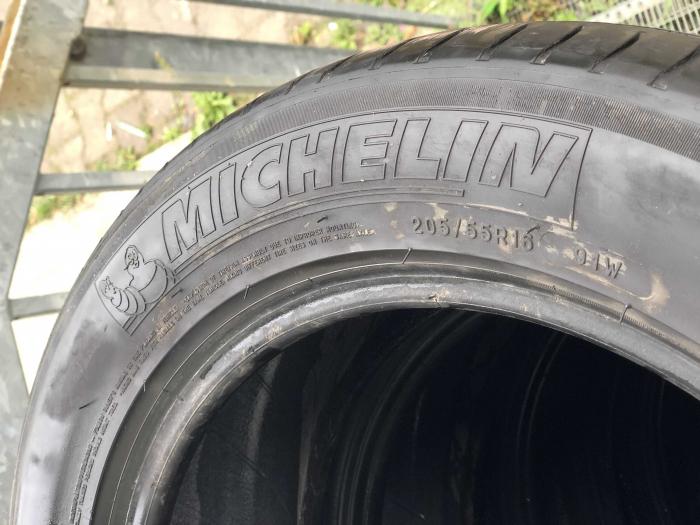 set 2 anvelope 205/55 R16 91W sh vara Michelin 5.5mm cu garantie [4]