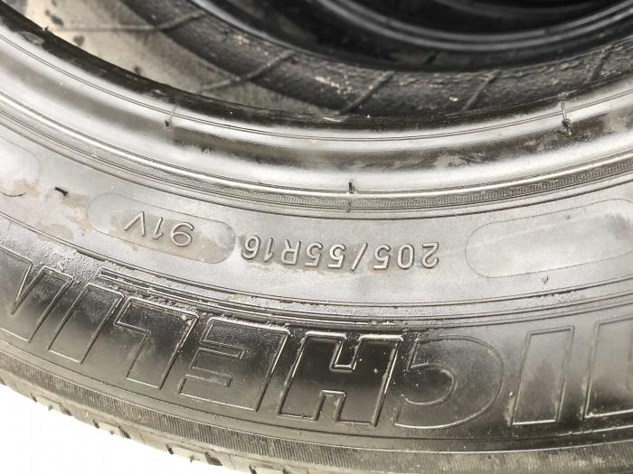 set 4 anvelope 205/55 R16 91V sh vara Michelin 5-6mm cu garantie [4]