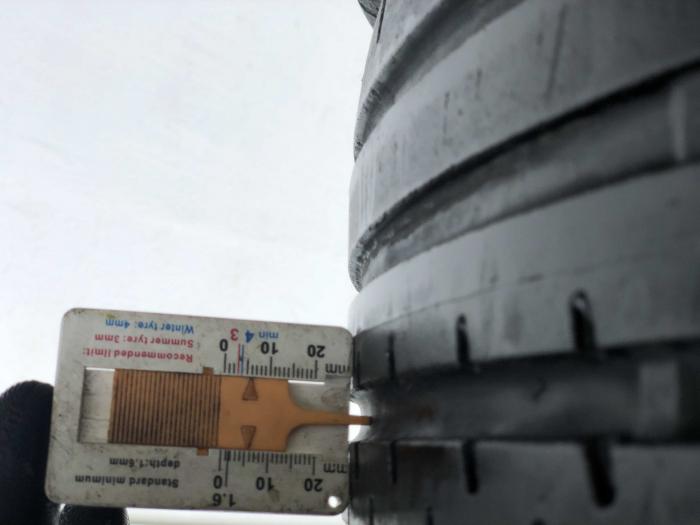 set 4 anvelope 205/55 R16 sh vara Continental 5mm cu garantie [6]