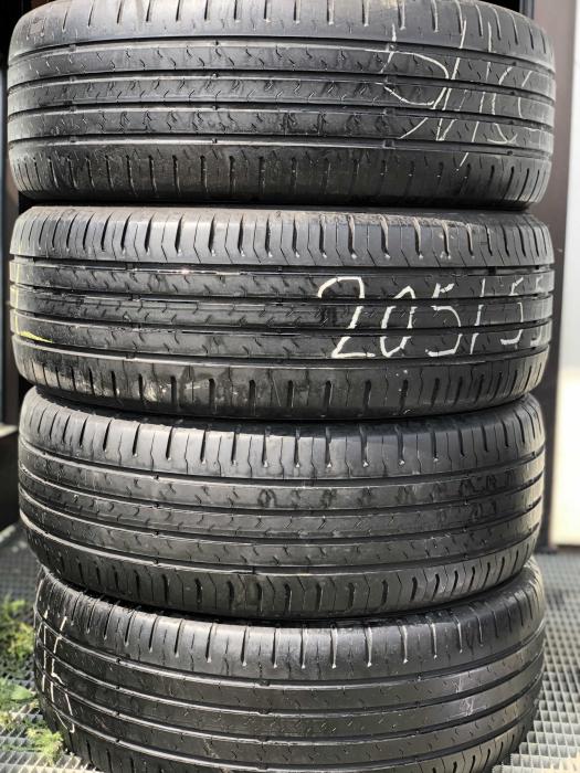 set 4 anvelope 205/55 R16 91V sh vara Continental 5-7mm cu garantie [0]