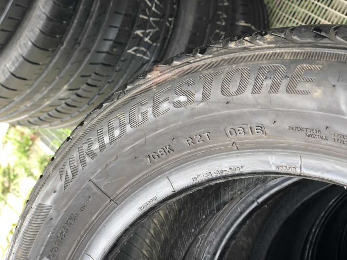 set 2 anvelope 205/55 R16 91V sh vara Bridgestone 6mm cu garantie [4]