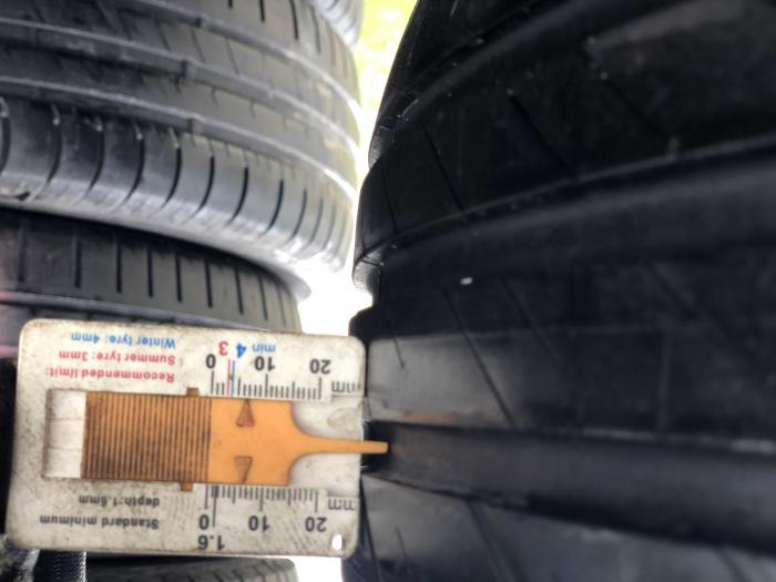 set 2 anvelope 205/55 R16 91V sh vara Bridgestone 6mm cu garantie [5]