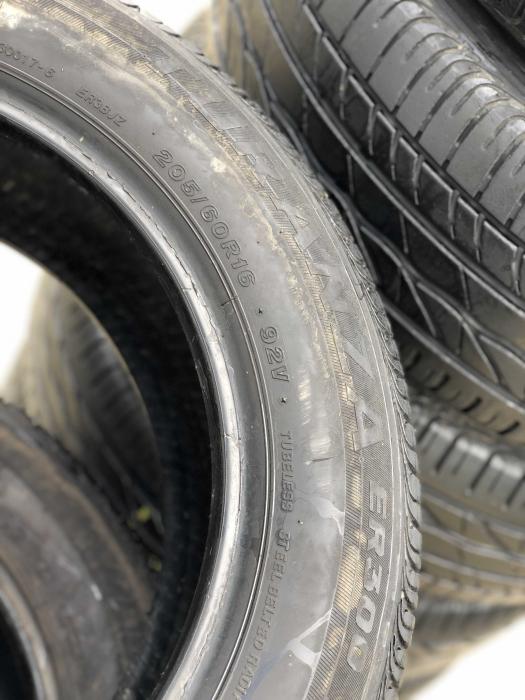 set 4 anvelope 205/60 R16 92V sh vara Bridgestone 6.5mm cu garantie [4]