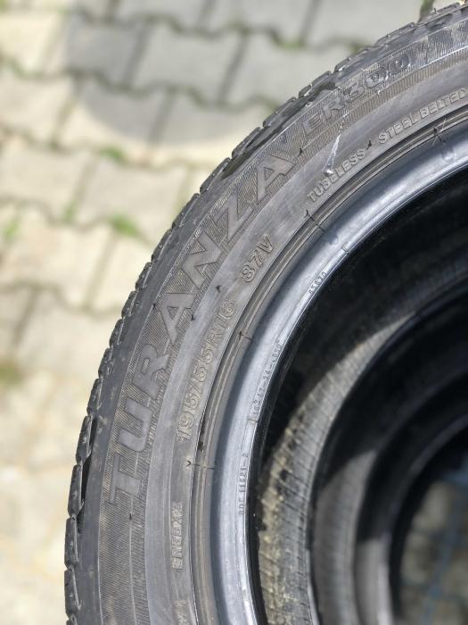 set 4 anvelope 195/55 R16 87V sh vara Bridgestone 4mm cu garantie [4]