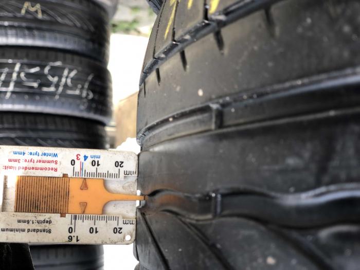 set 4 anvelope 195/55 R16 87V sh vara Bridgestone 4mm cu garantie [5]
