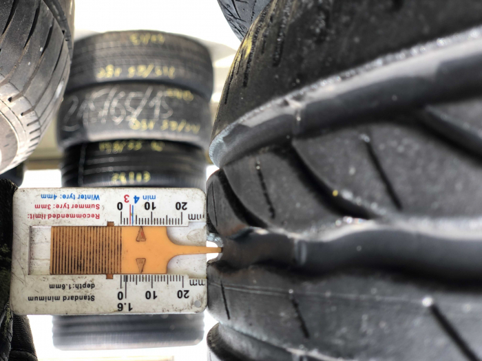 set 4 anvelope 195/55 R16 87H sh vara Bridgestone 6mm cu garantie [5]
