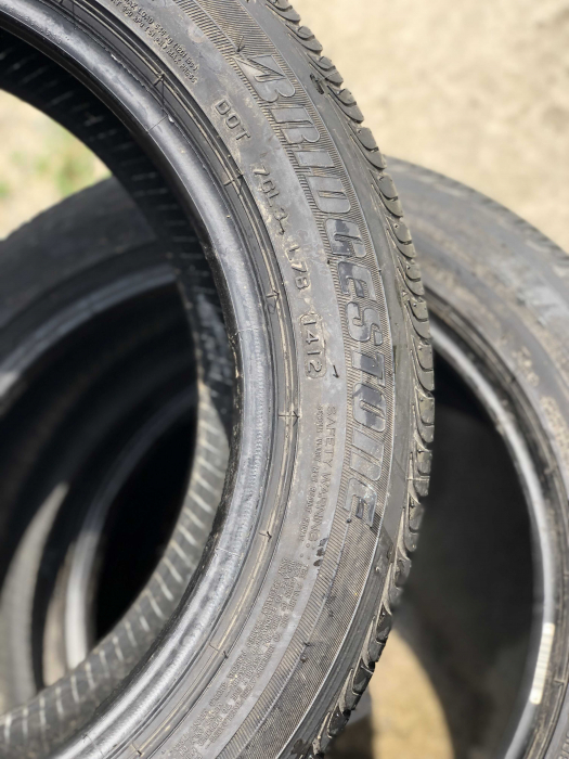 set 4 anvelope 195/55 R16 87H Runflat sh vara Bridgestone 5mm cu garantie [4]
