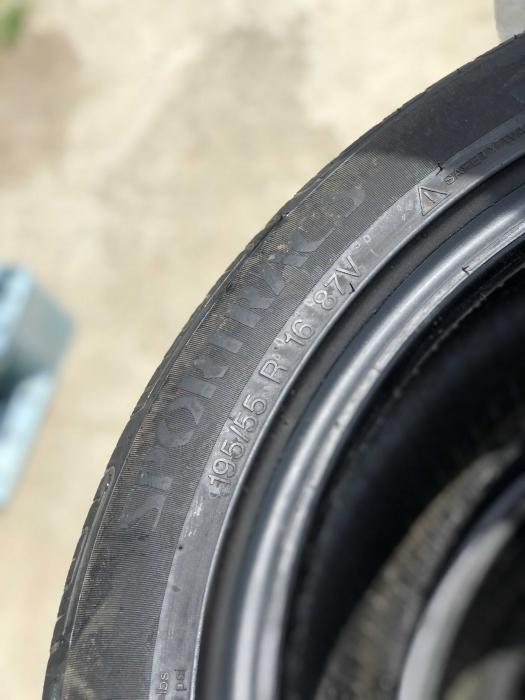 set 2 anvelope 195/55 R16 sh vara Vredestein 6.5mm cu garantie [4]