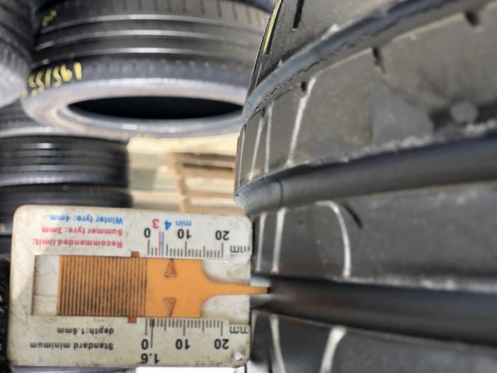 set 2 anvelope 195/55 R16 87V sh vara Hankook 5.5mm cu garantie [6]