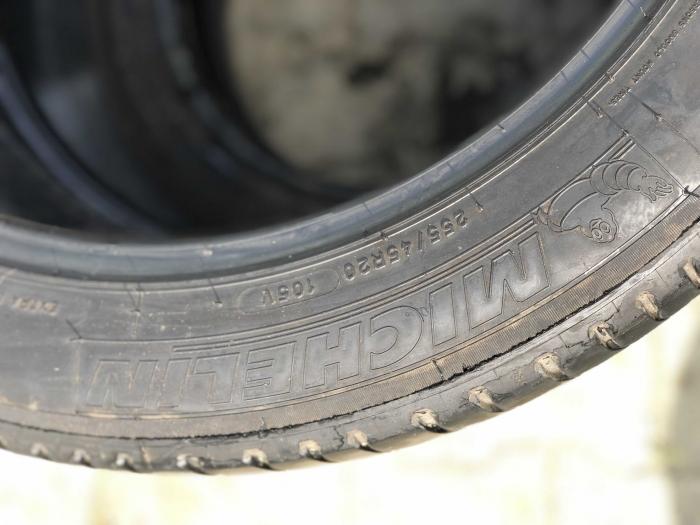 set 2 anvelope 255/45 R20  sh vara Michelin 5.5mm cu garantie [4]