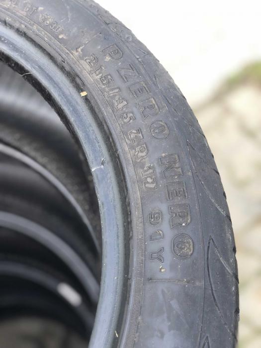 set 2 anvelope 215/45 R17 91Y sh vara Pirelli 6.5mm cu garantie [4]