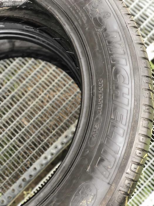 set 2 anvelope 205/55 R16 91V sh iarna Michelin 6mm cu garantie [3]
