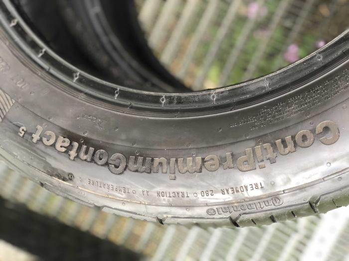 set 2 anvelope 205/55 R16 91V sh vara Continental 6.5mm cu garantie [3]