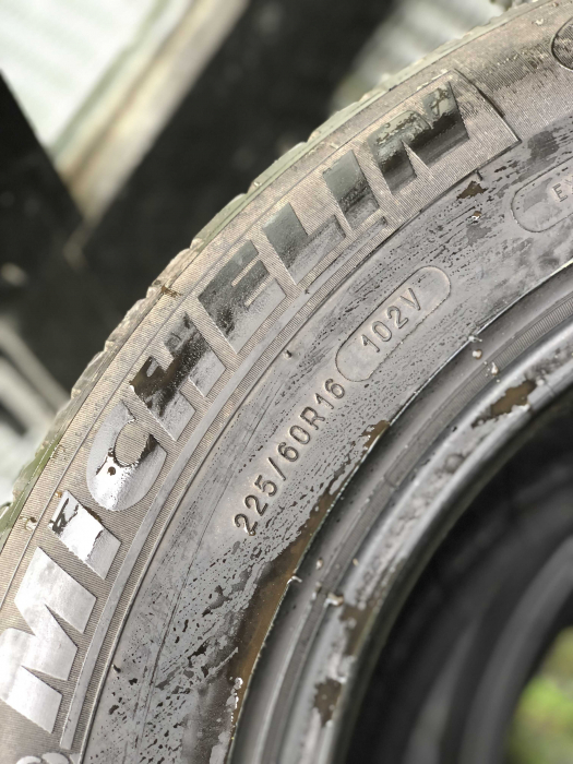 set 2 anvelope 225/60 R16 102V sh vara Michelin 6mm cu garantie [5]