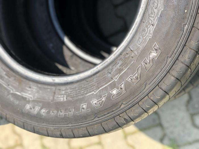 set 2 anvelope 235/65 R16C 115/113R sh vara Goodyear 6.5 mm cu garantie [4]