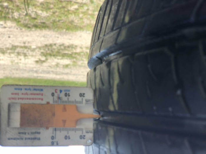 set 2 anvelope 215/65 R16C 109/107T sh vara Goodyear 7mm cu garantie [5]