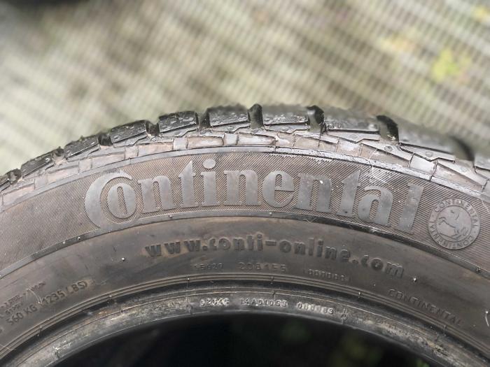 set 2 anvelope 185/60 R15 88T sh iarna Continental 6mm cu garantie [3]
