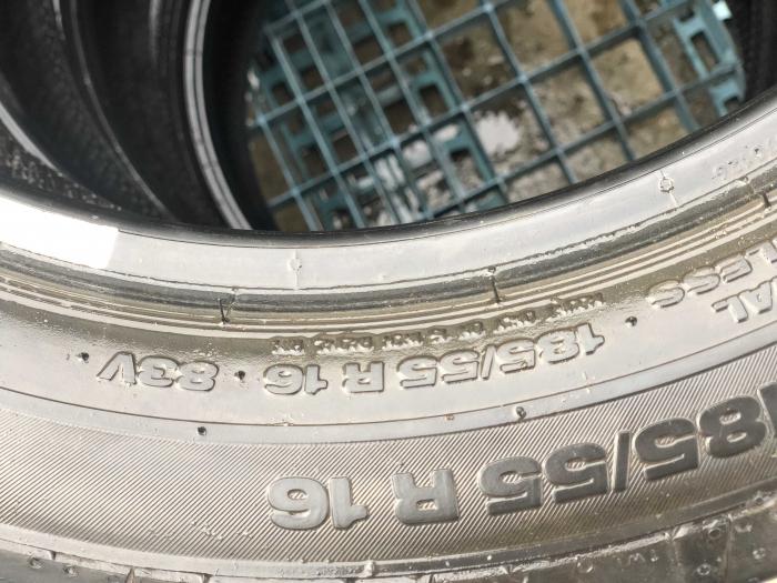 set 4 anvelope 185/55 R16 83V sh vara Continental 5mm cu garantie [3]