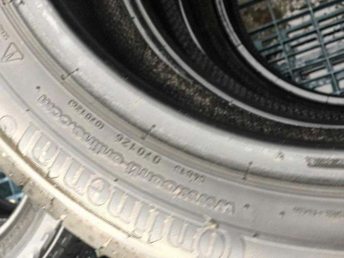 set 4 anvelope 185/55 R16 83V sh vara Continental 5mm cu garantie [5]