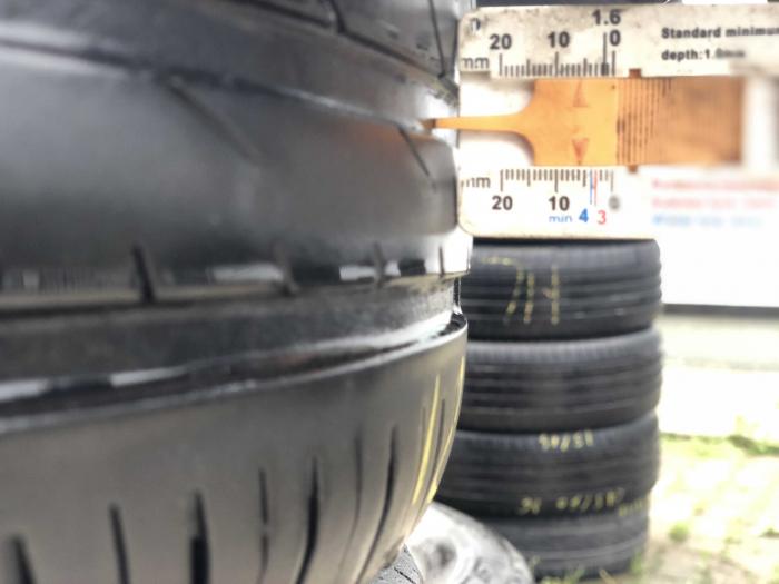 set 4 anvelope 185/55 R16 83V sh vara Continental 5mm cu garantie [6]