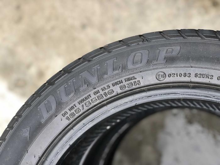set 2 anvelope 185/55 R16 83H sh vara Dunlop 5mm cu garantie [3]