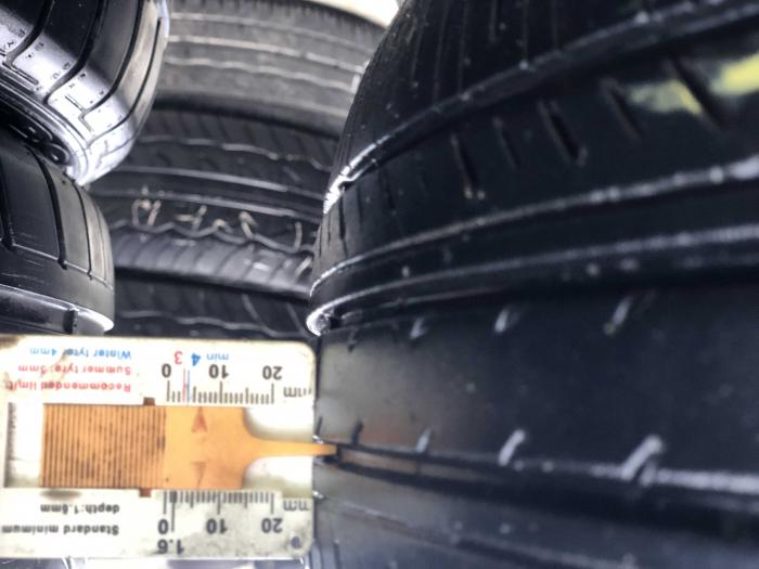 set 2 anvelope 195/60 R16 89H sh vara Yokohama 6mm cu garantie [6]