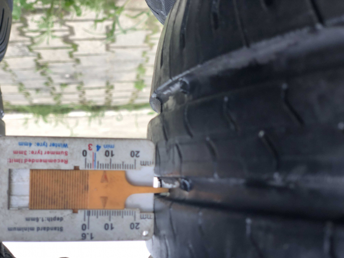 set 2 anvelope 185/50 R16 81H sh vara Continental 6.5mm cu garantie [7]