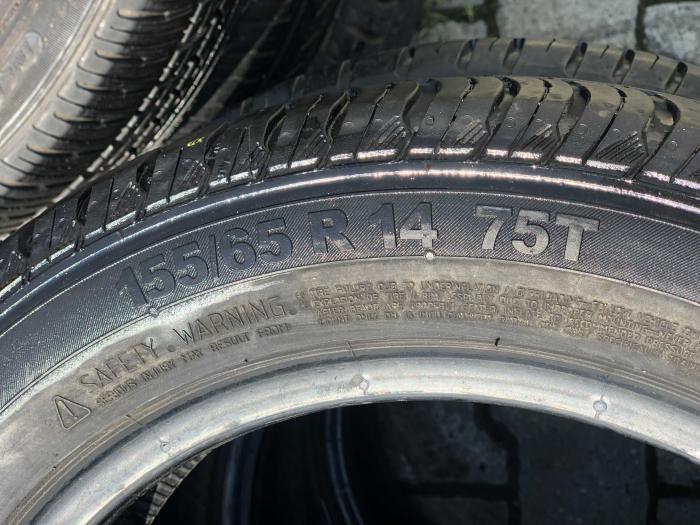 set 4 anvelope 155/65 R14 75T sh vara Continental 5.5mm cu garantie [5]