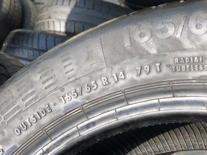 set 4 anvelope 165/65 R14 79T sh vara Continental 6.5mm cu garantie [3]