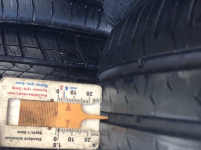 set 4 anvelope 165/65 R14 79T sh vara Continental 6.5mm cu garantie [6]