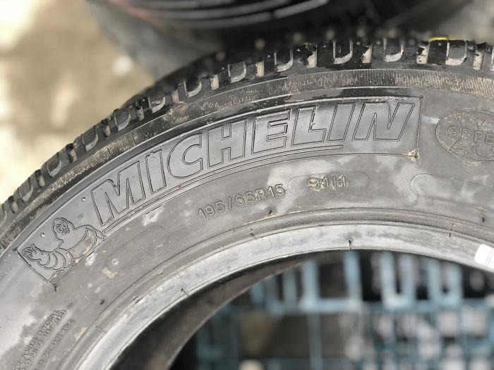 set 4 anvelope 195/65 R15 91H sh vara Michelin 5mm cu garantie [3]