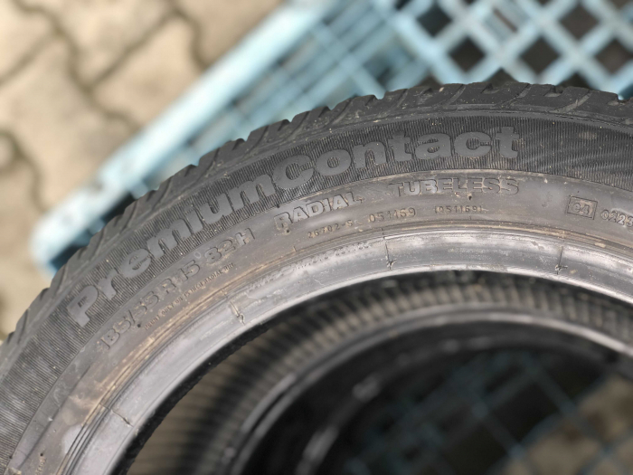 set 2 anvelope 185/55 R15 82H sh vara Continental 7mm cu garantie [4]