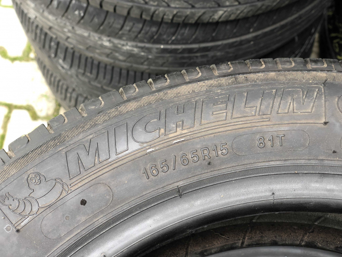 set 2 anvelope 165/65 R15 81T sh vara Michelin 5mm cu garantie [3]