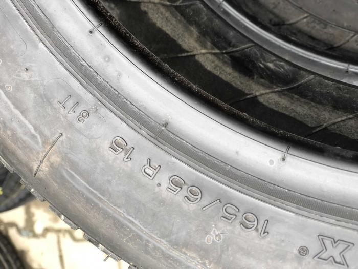 set 2 anvelope 165/65 R15 81T sh vara Michelin 7mm cu garantie [4]