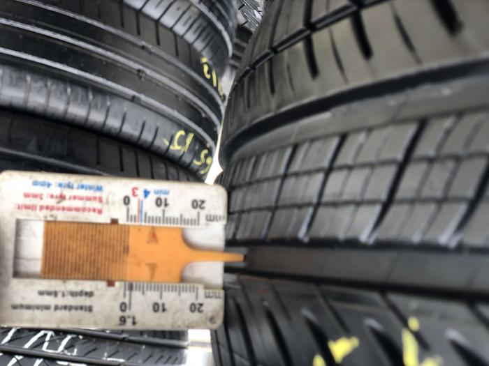 set 2 anvelope 165/65 R15 81T sh vara Michelin 7mm cu garantie [6]