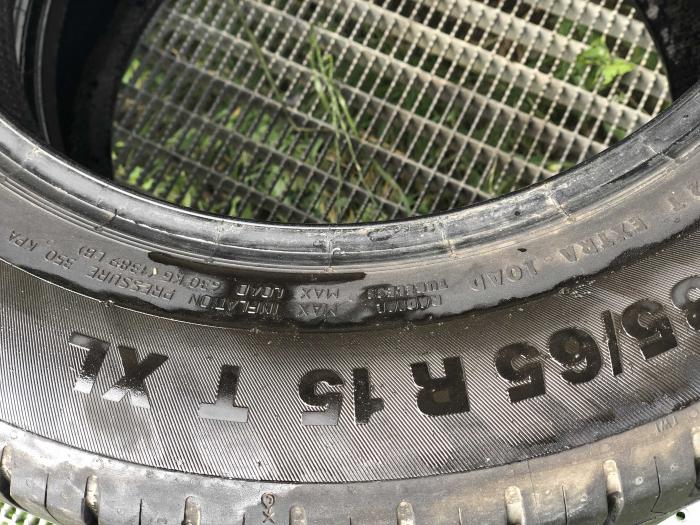 set 2 anvelope 185/65 R15 XL 92T sh vara Continental 7mm cu garantie [3]