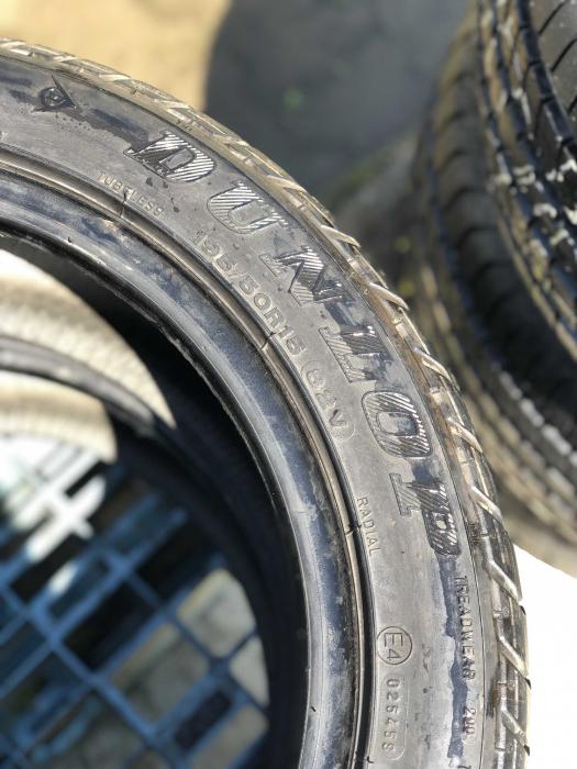 set 2 anvelope 195/50 R15 82V sh vara Dunlop 5mm cu garantie [4]