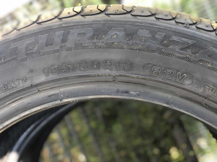 set 2 anvelope 195/50 R15 82V sh vara Bridgestone 6mm cu garantie [3]