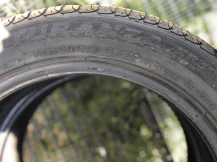 set 2 anvelope 195/50 R15 82V sh vara Bridgestone 6mm cu garantie [4]