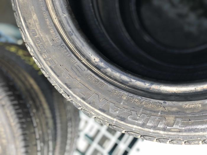 set 2 anvelope 195/55 R15 85H sh vara Bridgestone 6mm cu garantie [3]
