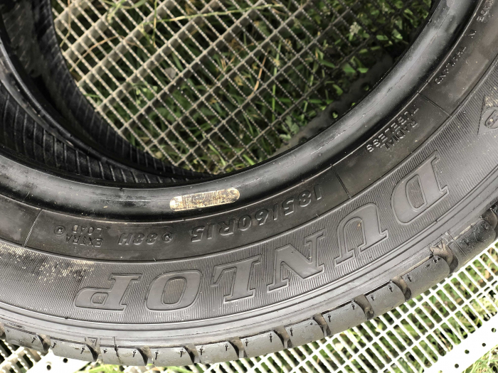 set 4 anvelope 185/60 R15 88H sh vara Dunlop 6mm cu garantie [4]