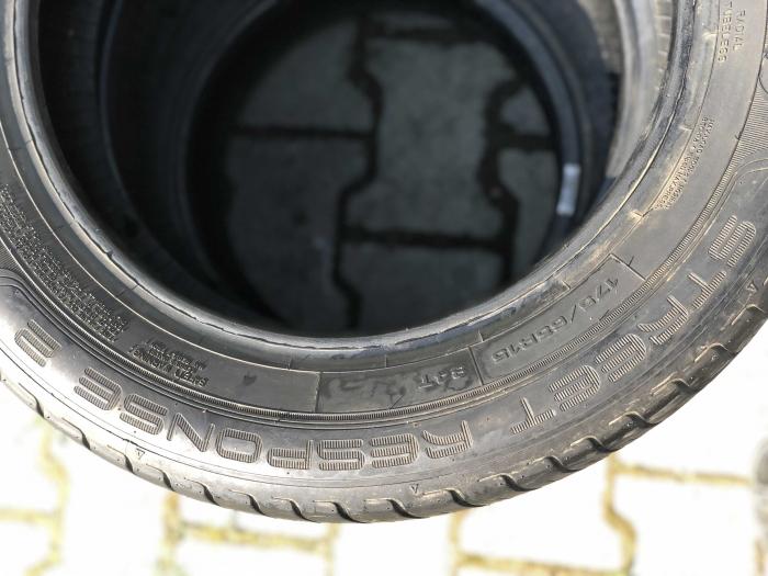 set 2 anvelope 175/65 R15 84T sh vara Dunlop 4mm cu garantie [2]