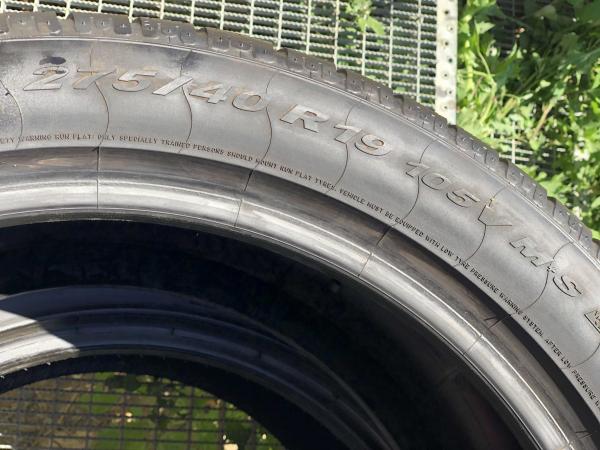 set 2 anvelope 275/40 R19 Runflat sh iarna Pirelli 7mm cu garantie 3