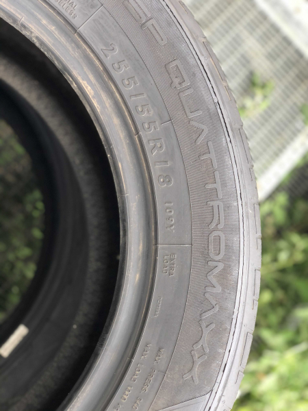 set 2 anvelope 255/55 R18 sh vara Dunlop 5mm cu garantie 3