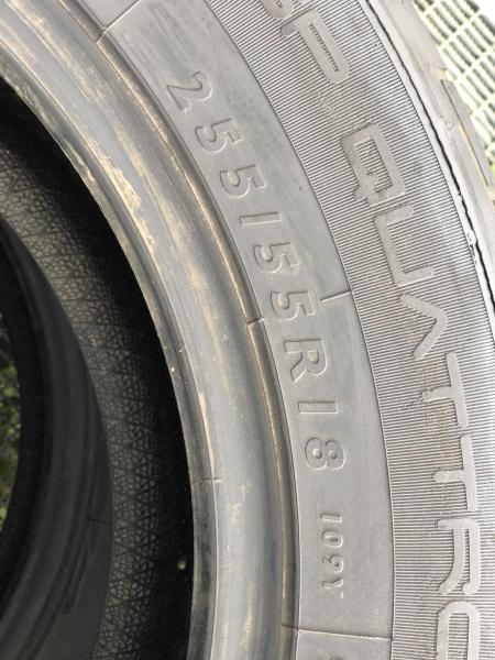 set 2 anvelope 255/55 R18 sh vara Dunlop 5mm cu garantie 4